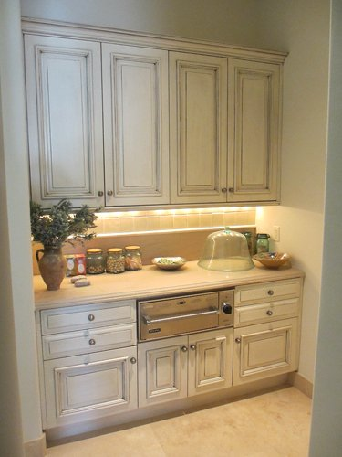 Refinished Butler's Pantry In Paradise Valley
