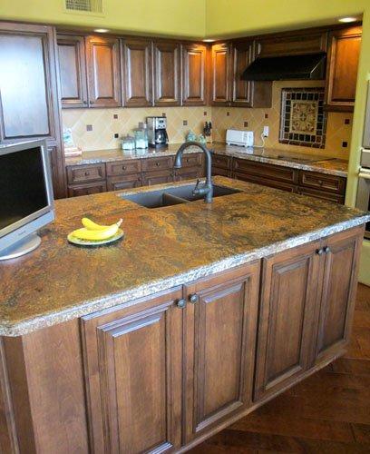 fancy remodeled kitchen