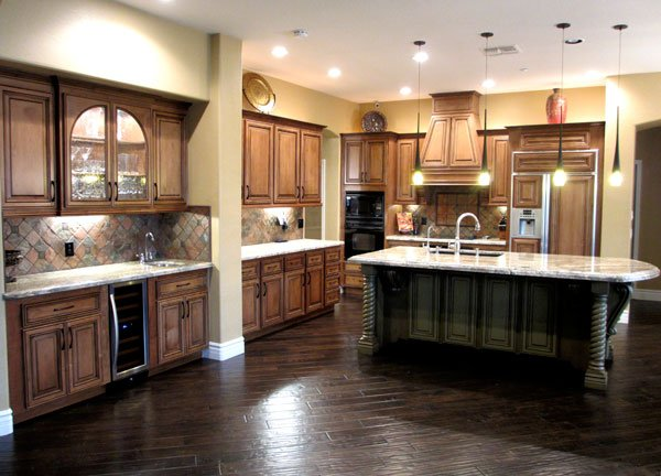 Kitchen Refacing After Image