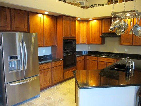 transformed wood modern kitchen