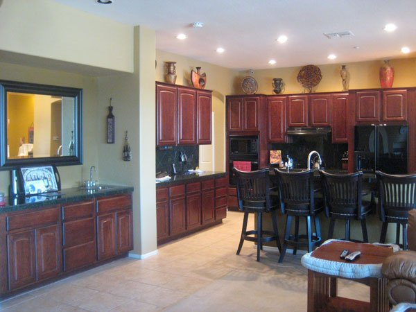 kitchen refacing before image