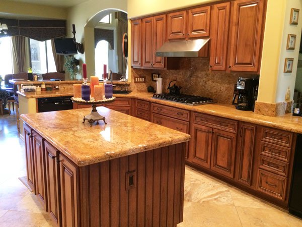 Custom Refaced Kitchen Cabinets
