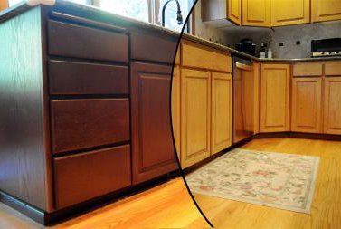 Cabinet refinishing scottsdale az refinishing kitchen for Refinishing kitchen cabinets before and after