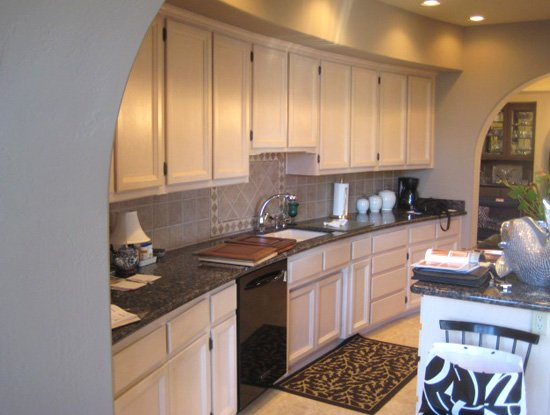 light spacious wood kitchen