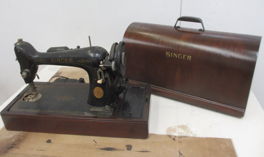 heirlooms restored Fire and Smoke Damaged Antique Singer Sewing Machine Scottsdale Arizona Antique Better Than New Fine Furniture Repair Tempe Restoration