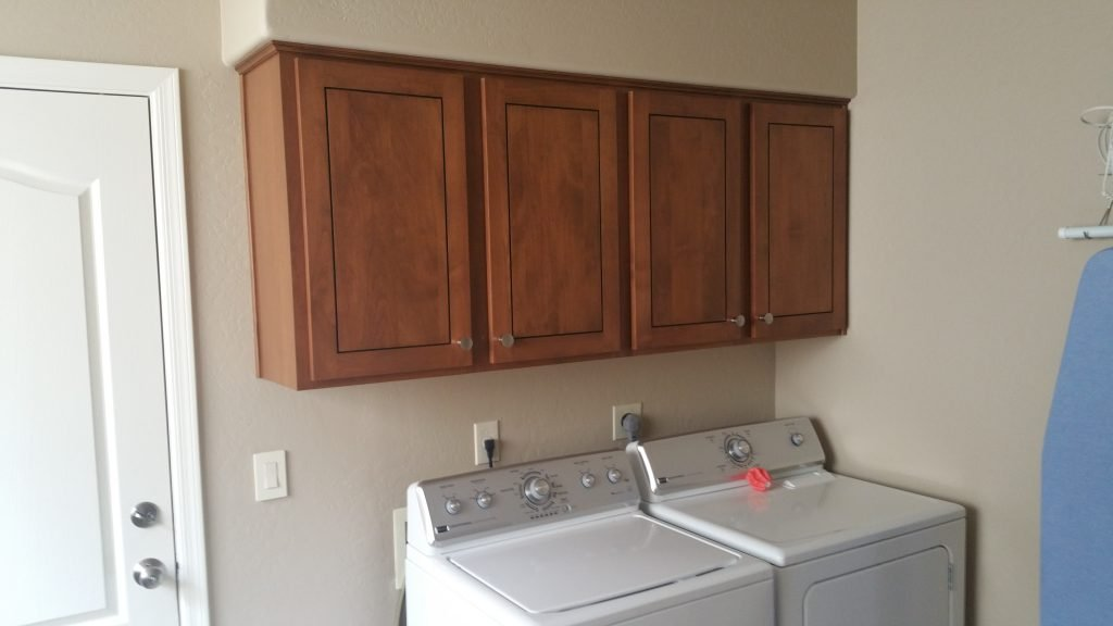 Laundry Room Cabinet Refacing Services