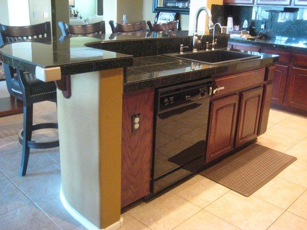 BEFORE Kitchen Island Reface Style Phoenix Scottsdale Arizona