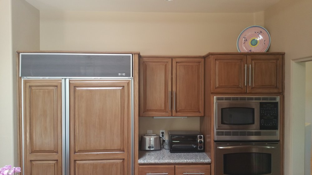 modern cabinet refacing. Modern Kitchen Before No New Uppers Yet Cabinet Refacing