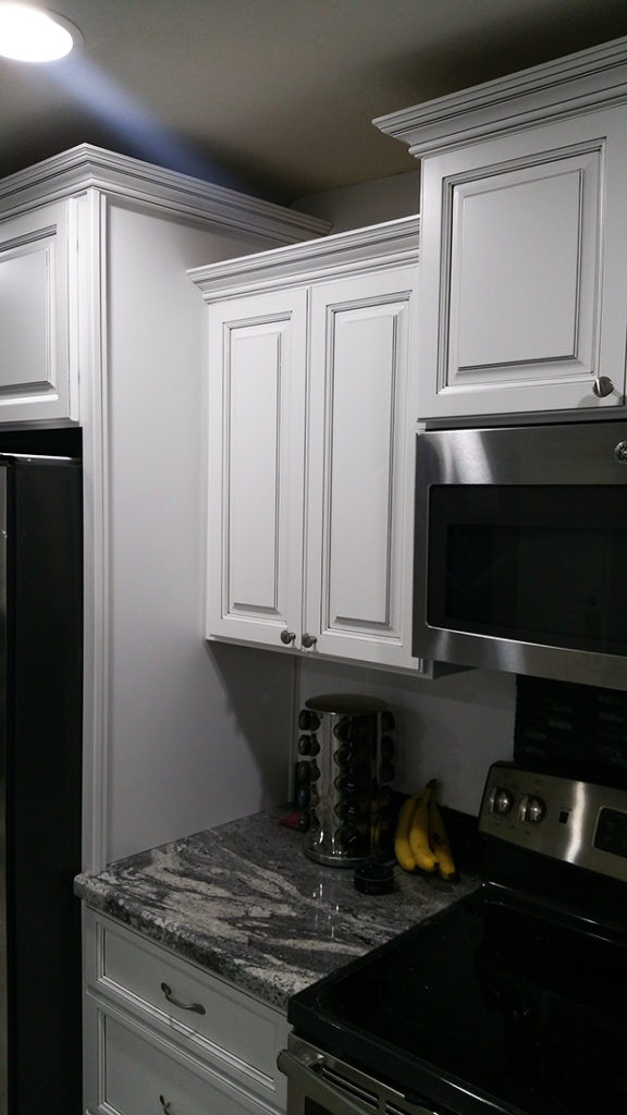 Antique White Kitchen Cabinets 3 - Better Than New Kitchens Scottsdale