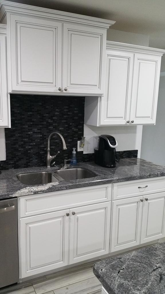 Antique White Kitchen Cabinets 2 - Better Than New Kitchens Scottsdale