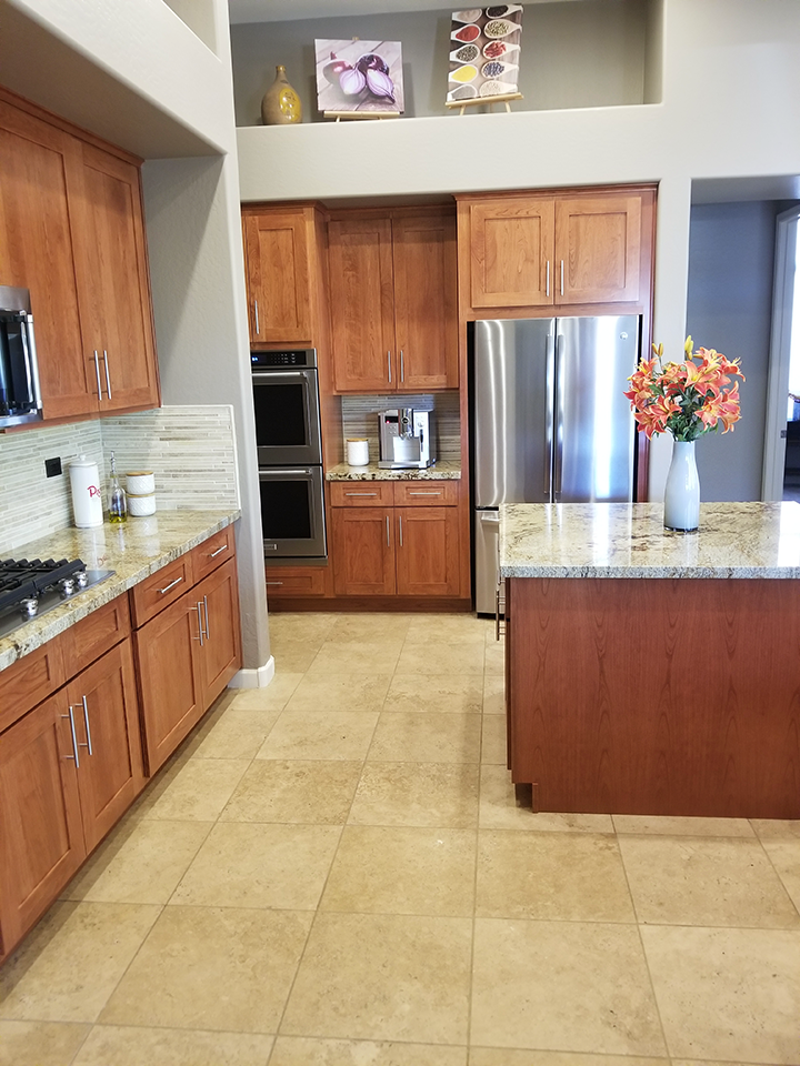 JA S After 3 Better Than New Kitchen Reface Scottsdale Shaker Cherry Kitchen