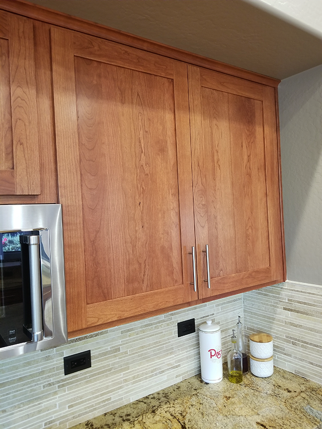 JA S Better Than New Kitchen Reface Scottsdale Modern Shaker door After 4