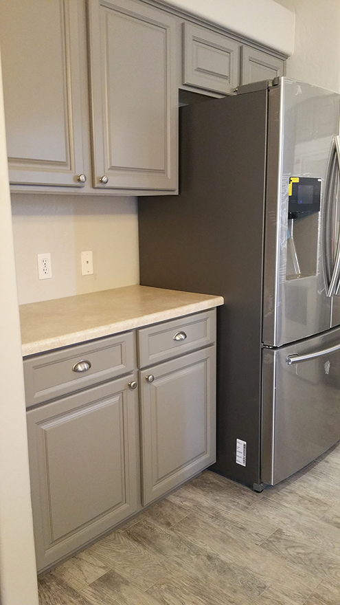 Grey Painted Better Than New Kitchen Scottsdale