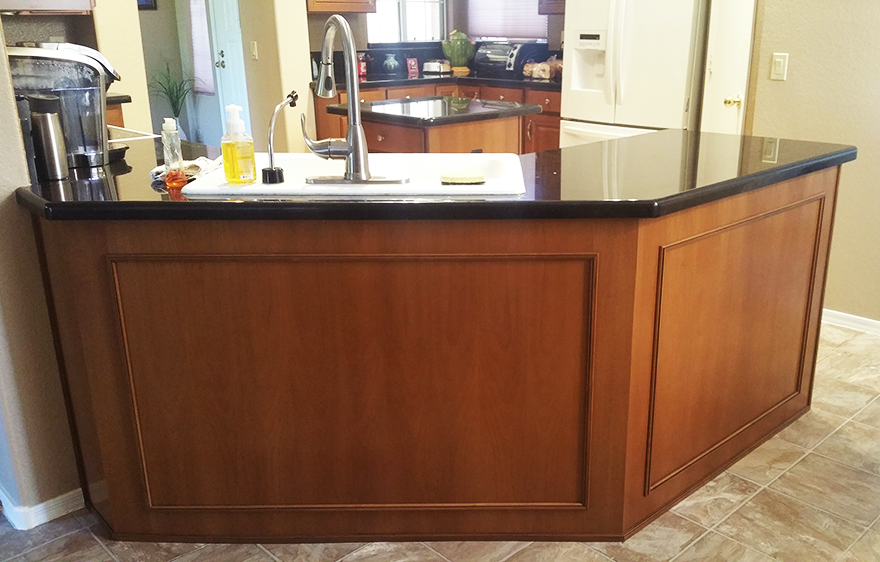 Kitchen Refacing Raised Panels Phoenix Better Than New