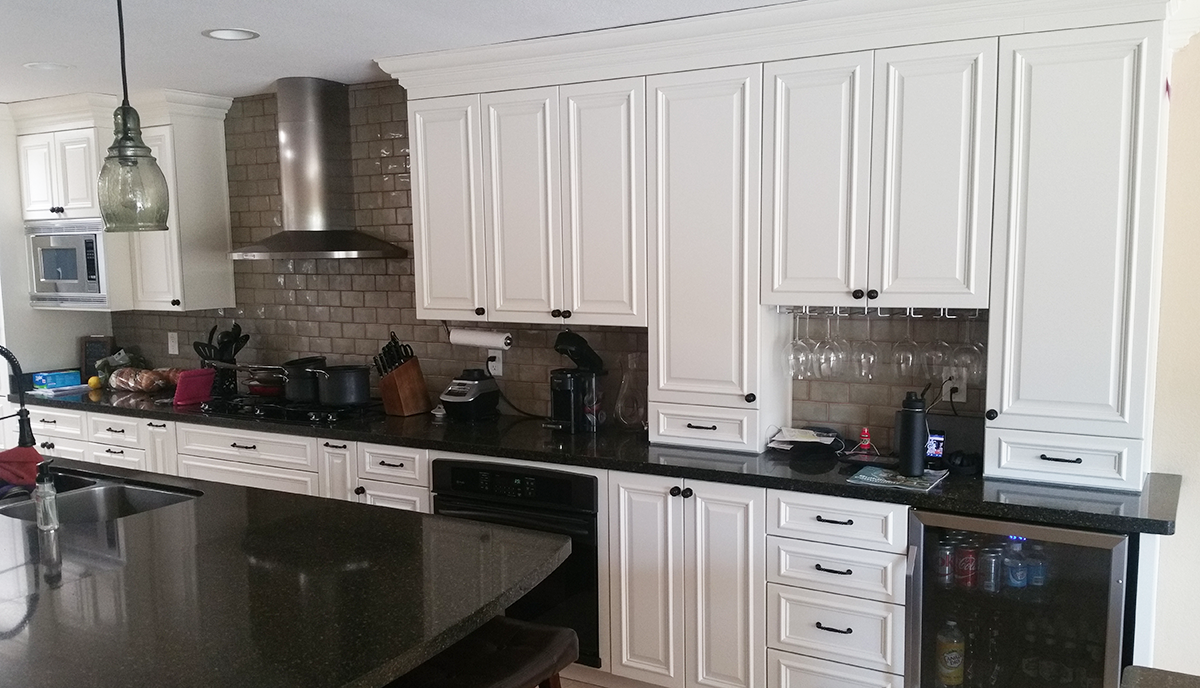 Phoenix White Kitchen Reface FA2