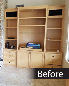 Before Images of Refinishing Projects
