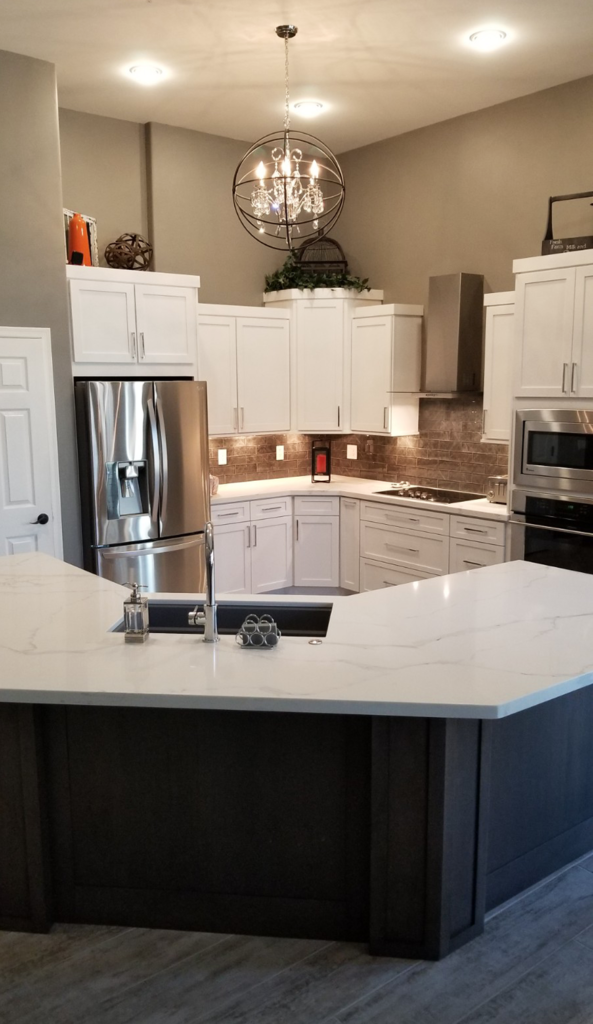 Refinishing Old Kitchen Cabinet